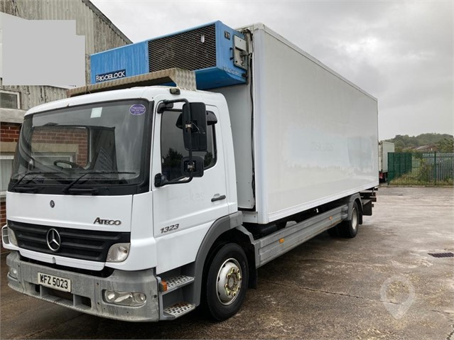 2006 Mercedes Benz 1323 4X2 230 BHP 13 Tons Day Cab, Stereo, Aircon. Refrigerated body,