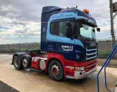2008 Scania R Series 6x2 45 Tons Tractor Unit