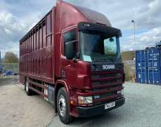 2002 Scania P94 230  4x2  18 Tons  Lorry Livestock Box Lorry