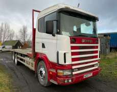 2000  Scania 114 380 6x2 26 Tons  Flatbed