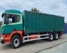 1998 Scania 94 6x4 26 Tons Curtainside Lorry Sleeper Cab