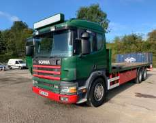 1997 Scania 94D 310 Manual Pump, 8 Speed gearbox,6x2 26 Tons Flat bed Sleeper