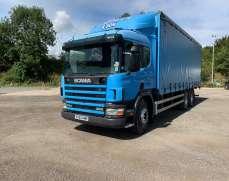 2003 Scania P94 260  26 Tons  Curtainside, Ten  tyre, Sleeper Cab,