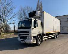 2011 DAF 75 310, 26 tons 6x2 fridge box, Sleeper club, Meat Rails Factory fitted,