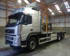 Volvo FH12 6x2  26 Tons Flat Bed