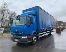 2011 Renault 4x2 18Ton Curtainside Powered By Volvo Engine and parts