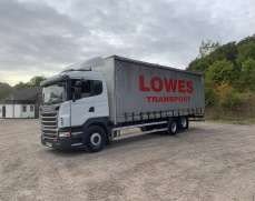 2011 Scania G280 6x2 26 Tonnes, Curtain Side. Ten Tyre, Manual gearbox, Excellent Condition,
