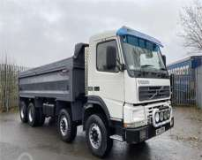 VOLVO FM12 420 32 Tonnes Tipper, Steel Body Heavy Duty