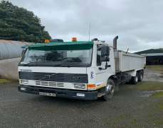 1997 Volvo  FL7 6x4 26 Tonnes Tipper Double Diff, Day Cab, Manual Fuel Pump,