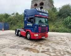 2000 Scania 124 6x2 44 Tonnes Sleeper Cab