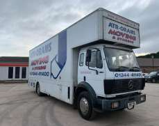 1995 Mercedes Benz 1820 18 Tonnes Box Lorry or As Flat Bed
