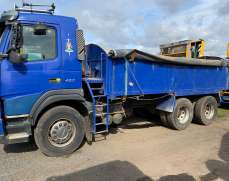 2004 Volvo FM12 420  6x4 26 Tones Manual Gearbox,  Tipper, Alloy body Spring suspension