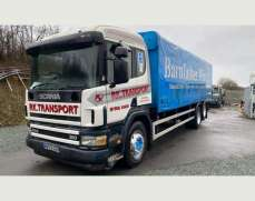 2003 Scania 94 310 6x2 26 Tonnes Curtain side, Sleeper Cab, Manual Fuel pump and gearbox