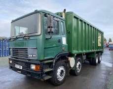 2000 ERF EC11 340 8x4 32 Tonnes Tipper  Bulk Body Manual Gearbox