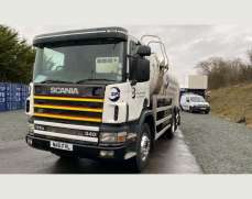 2001 Scania 114 6x2 26 Tons Water Bower, Day Cab, Manual Gearbox