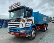 2001 Scania 94C 6x4 26 Tons Tipper Manual Fuel Pump and Gearbox, Day Cab,  Steel Suspension Steel Body