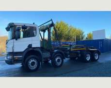 2007 Scania P340 8x4 32 Ton Chassis Cab Hook loader