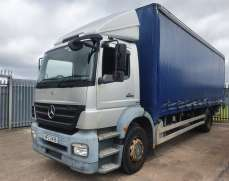 2007 Mercedes Benz Axor 4x2 1824 18 Tons Curtain side Day Cab