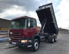 2002 Scania 114 340 6x4 26 Tonnes Tipper