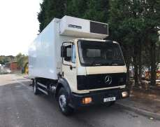 1994 Mercedes 1820 Day Cab Fridge Box on Springs Suspension, 6 Speed Manual Gearbox, Manual Fuel Pump,