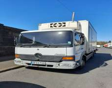 2004 Mercedes Benz 815 Atego 7.5 Ton Day Cab, Stereo/CD, Fridge Freezer unit , Two Seater, Steel Suspension