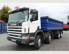 2002 Scania 94 300  8x4 32 Tones Steel body Tipper