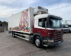 2003 Scania P94D 230, 4x2 18 Tons  Fridge Lorry Sleeper Cab, 8 Speed Manual Gearbox, 28FT,  Thermo King