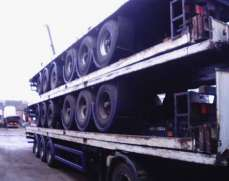 Tri Axle 40 Ft Traler