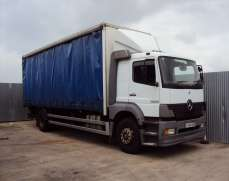 2004 MERCEDES BenZ 1823 4x2 18 TonS Curtainside , Manual gearbox