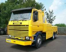 1991 Scania 113M 6x2 26 Tones Sleeper Can Recovery Tow Truck