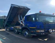 2002 Scania 114 340 32 Tones  Steel body Day Cab